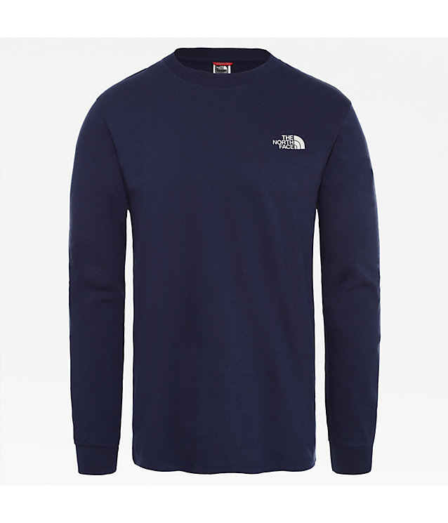 Men's Simple Dome Long-Sleeve T-Shirt | The North Face