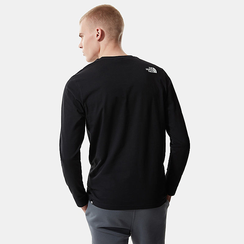 Pánské tričko Simple Dome s dlouhým rukávem-