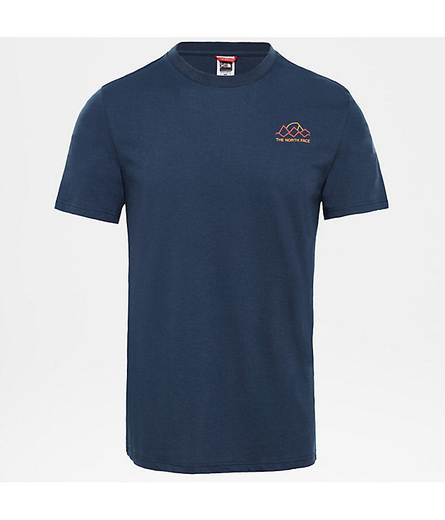 Ridge-T-shirt voor heren | The North Face
