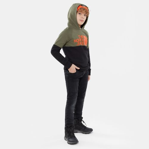 Drew Peak Raglan-capuchontrui voor jongeren-