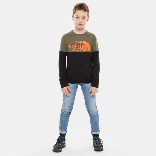 Easy T-shirt met lange mouwen voor jongeren-