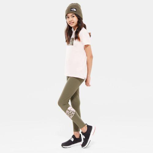 Mädchen Cotton Blend Leggings-