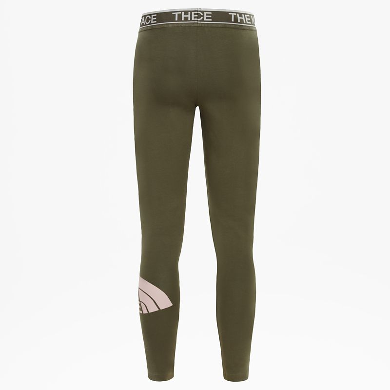 Girls' Cotton Blend Leggings-