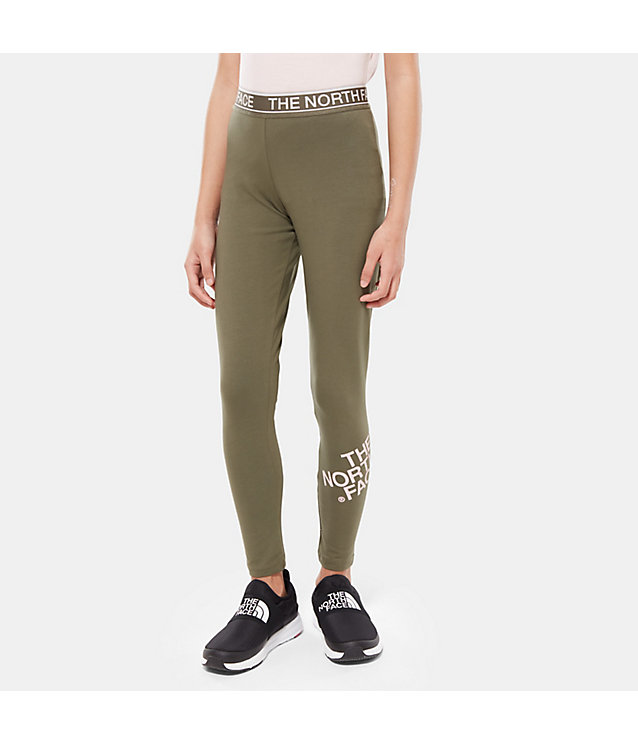 Girls' Cotton Blend Leggings | The North Face