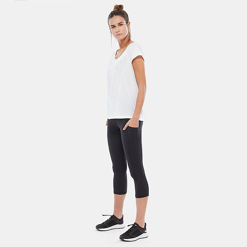 Legging court taille haute à poche Motivation pour femme-