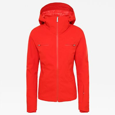 The North Face Womens Anonym Jacket Fiery Red Size XL