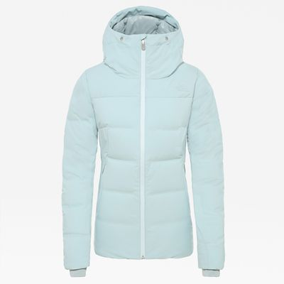The North Face Womens Cirque Down Jacket Cloud Blue Size XL