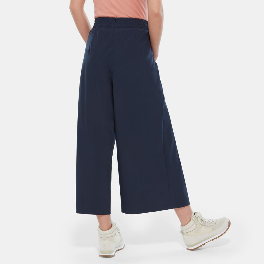 Women's Cooler Than Culotte High Waisted Trousers-