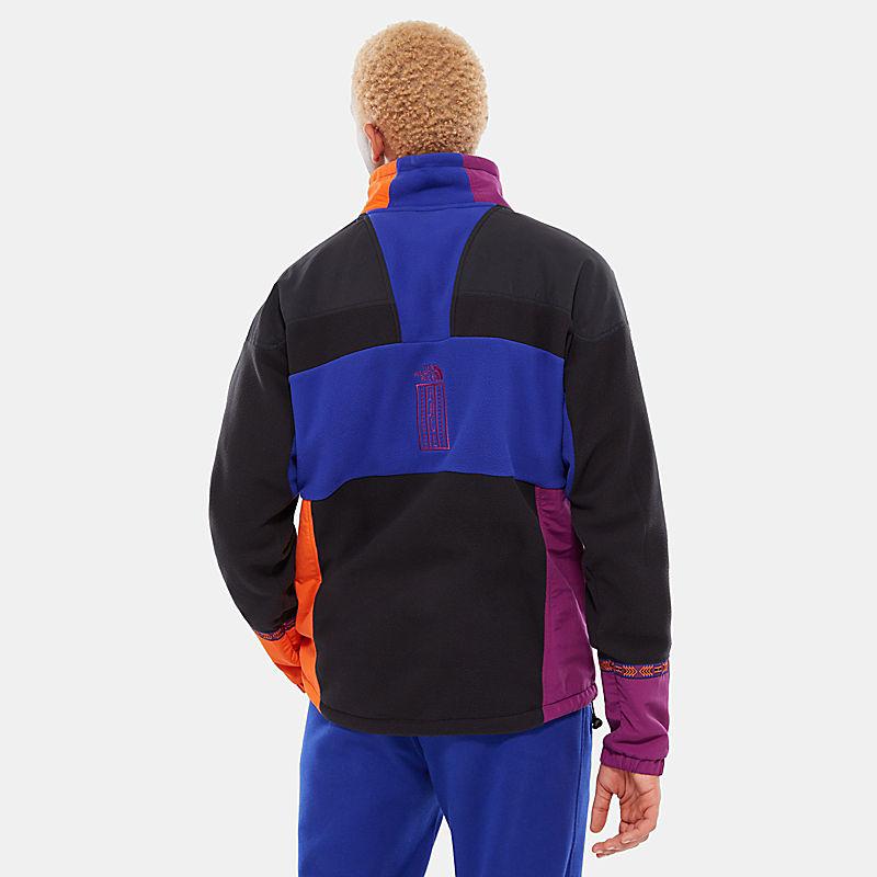 92 Rage fleece anorak/pullover voor heren-