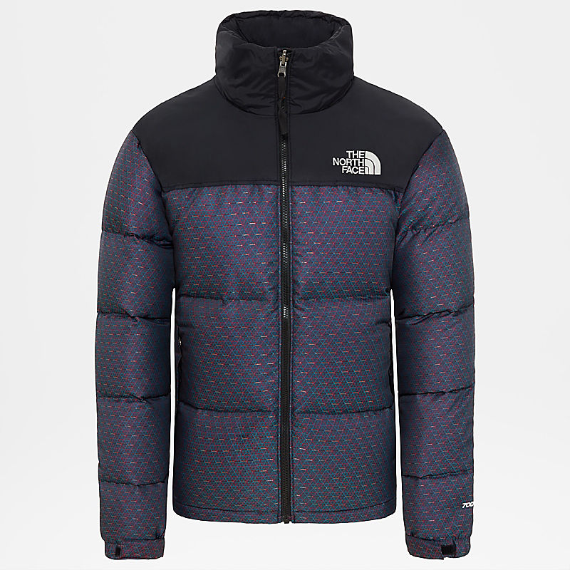 Herren 1996 Engineered Jacquard Nuptse Jacke-