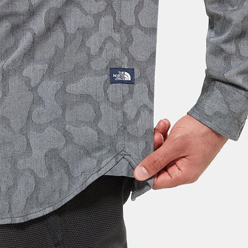 Camicia Uomo a maniche lunghe Sub-Alpine Jacq-