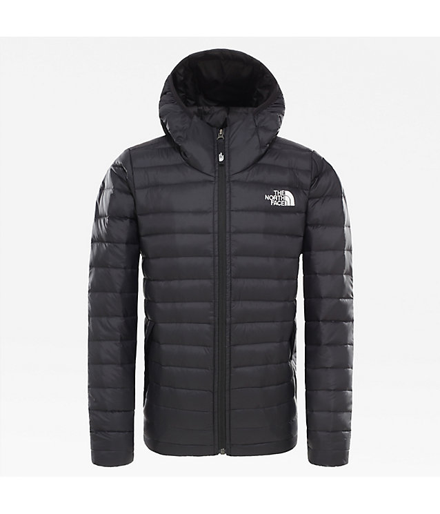 BOY'S ACONCAGUA DOWN HOODED JACKET | The North Face