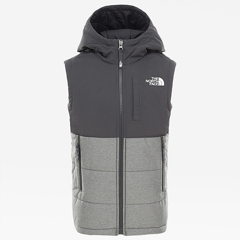 Youth Balanced Rock Insulated Hooded Gilet-