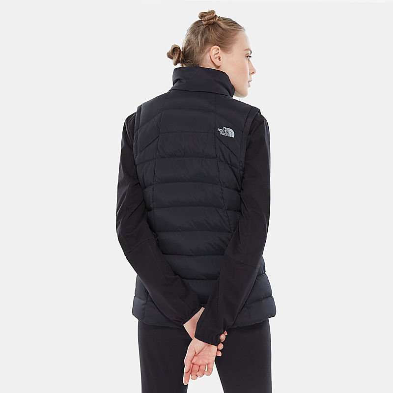 Stretch Vest Met Dons-