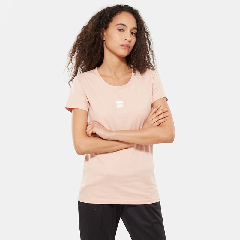 Damen Short-Sleeve Fine T-Shirt-