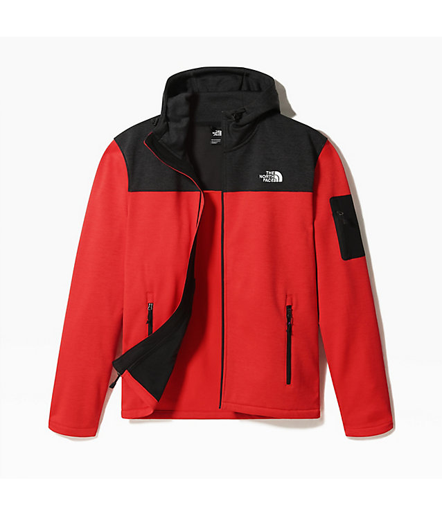 TECH EMILIO-FLEECE MET CAPUCHON VOOR HEREN | The North Face