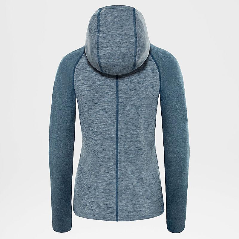 Veste à capuche zippée Invene pour femme-
