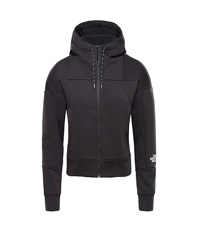 Felpa donna leggera con cappuccio e zip integrale | The North Face