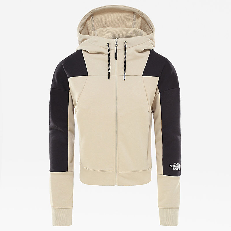 Light Full Zip Fleece hoody voor dames-