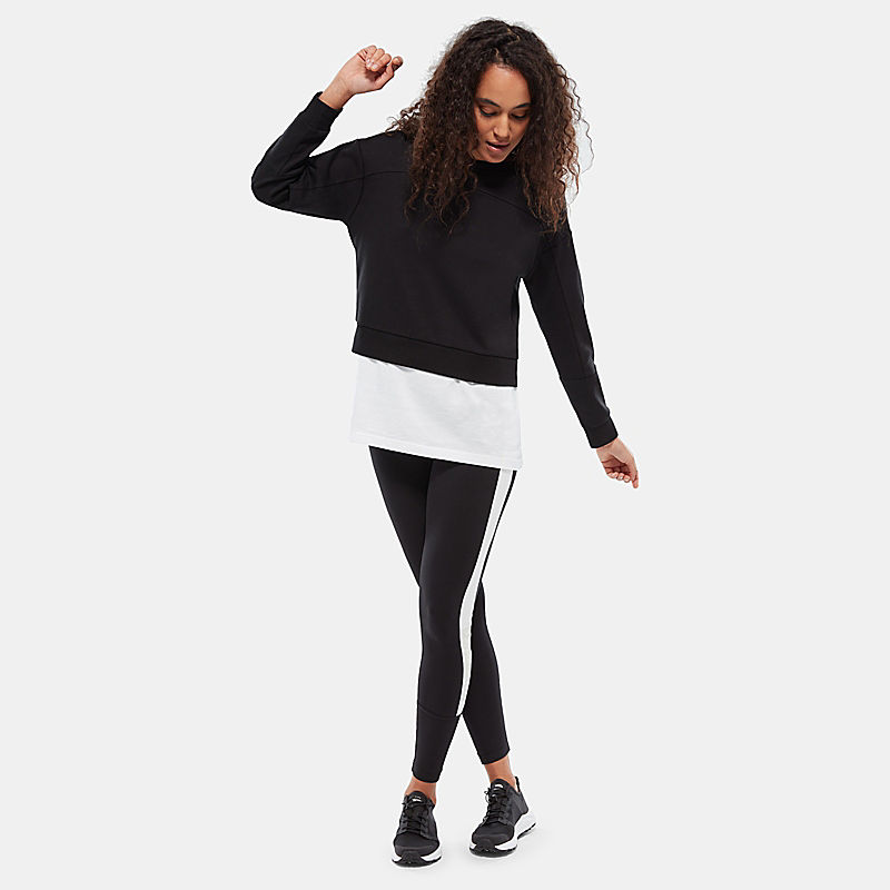 Damen Light Cropped Pullover-
