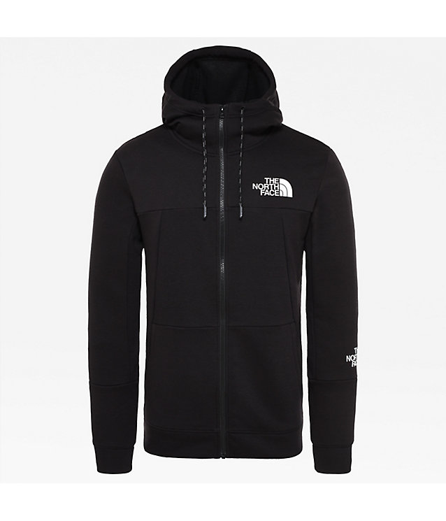 Felpa leggera uomo con cappuccio e zip integrale | The North Face