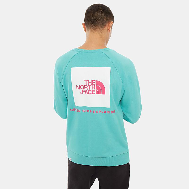 Herren Raglan Redbox Langarm-Shirt-