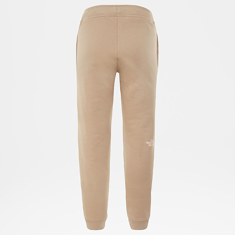 Girls' Slim Fit Fleece Trousers-