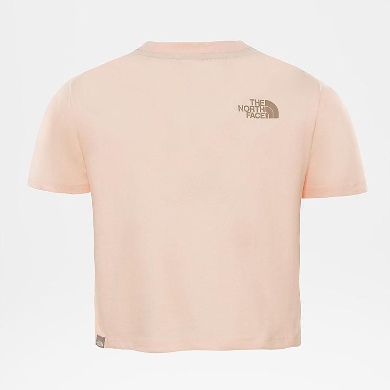 Girls' Cropped T-Shirt-