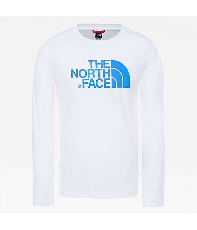 EASY T-SHIRT MET LANGE MOUWEN VOOR JONGEREN | The North Face