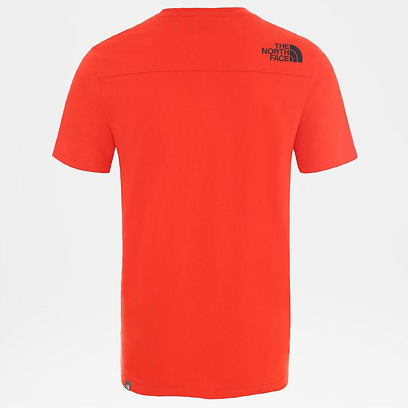 Herren Light T-Shirt Mit Kurzen Ärmeln-