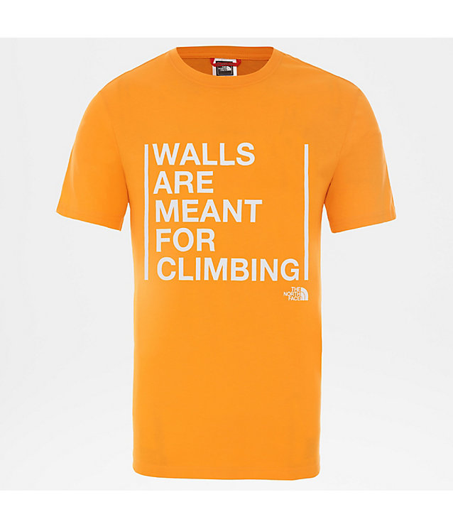 Herren Walls Are For Climbing T-Shirt | The North Face