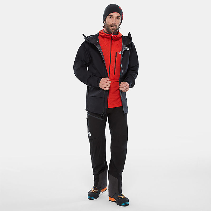 Herren Summit Series™ L2 Power Grid™ Fleecejacke Mit Kapuze-