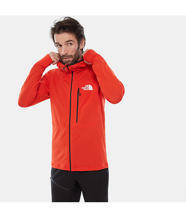 Herren Summit Series™ L2 Power Grid™ Fleecejacke Mit Kapuze | The North Face