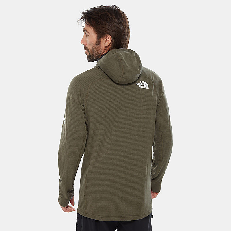 Men'S Summit Series™ L2 Power Grid™ Hooded Fleece-