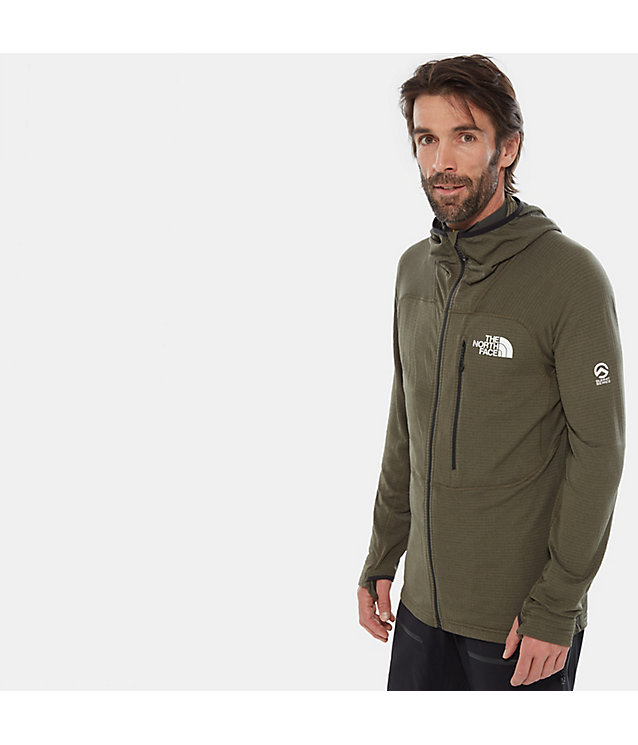 Men'S Summit Series™ L2 Power Grid™ Hooded Fleece | The North Face