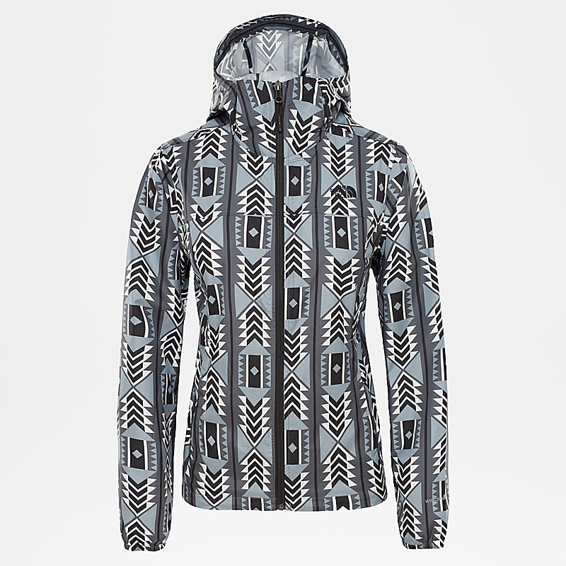 Damen Printed Cyclone Jacke-