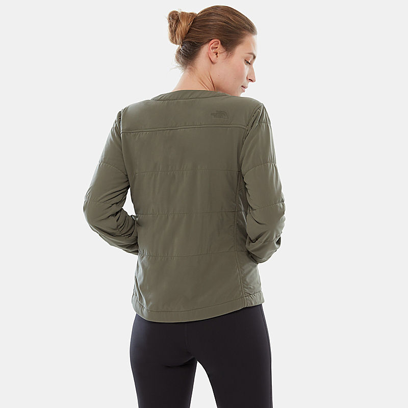 Women's Collarless Mountain Pullover-