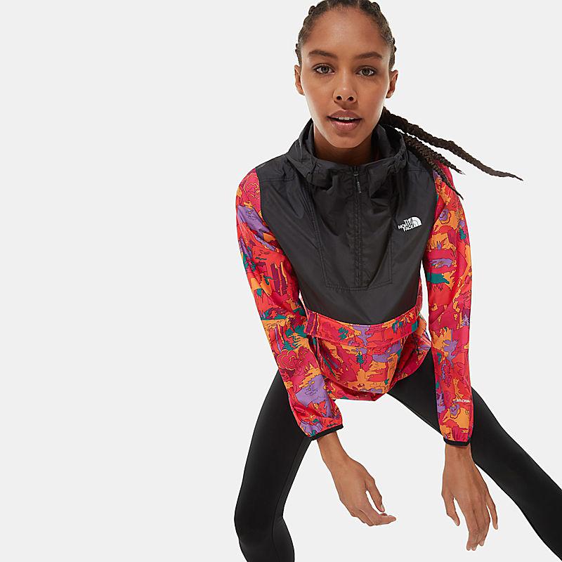 Women's Printed Fanorak Jacket-
