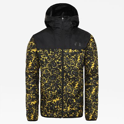 The North Face Men's Novelty Cyclone 2.0 Jacket Leopard Yellow 1994 Rage Print Size XS Men