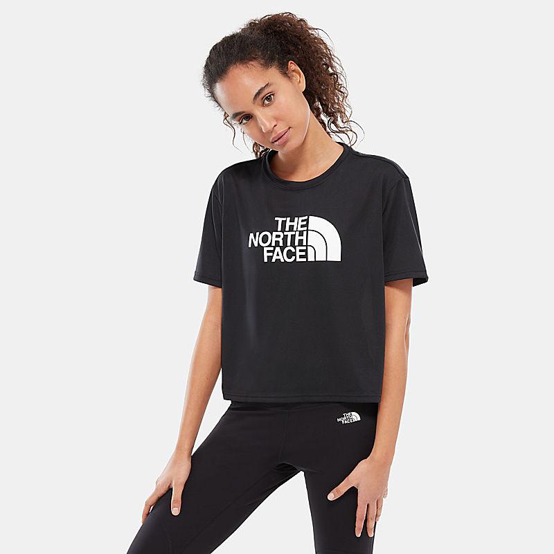 Train N Logo kort T-shirt voor dames-