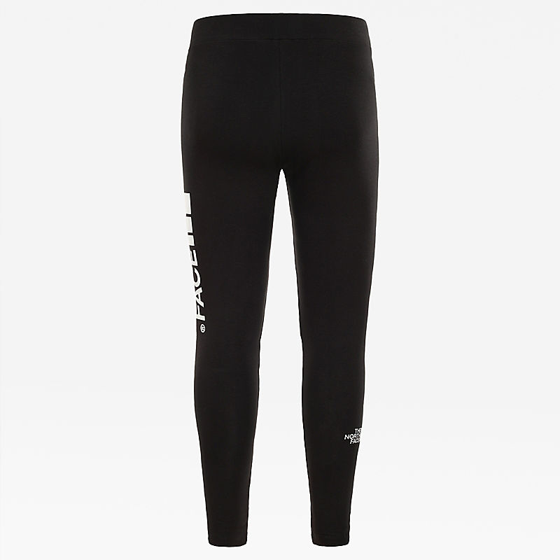 Girl's Big Logo Leggings-