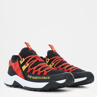 The North Face Chaussures Trail Escape Edge Pour Homme Tnf Black/bamboo Yellow Taille 41