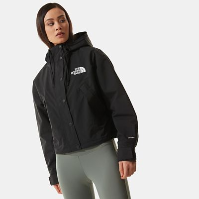 The North Face Womens Reign On Jacket Tnf Black Size XL