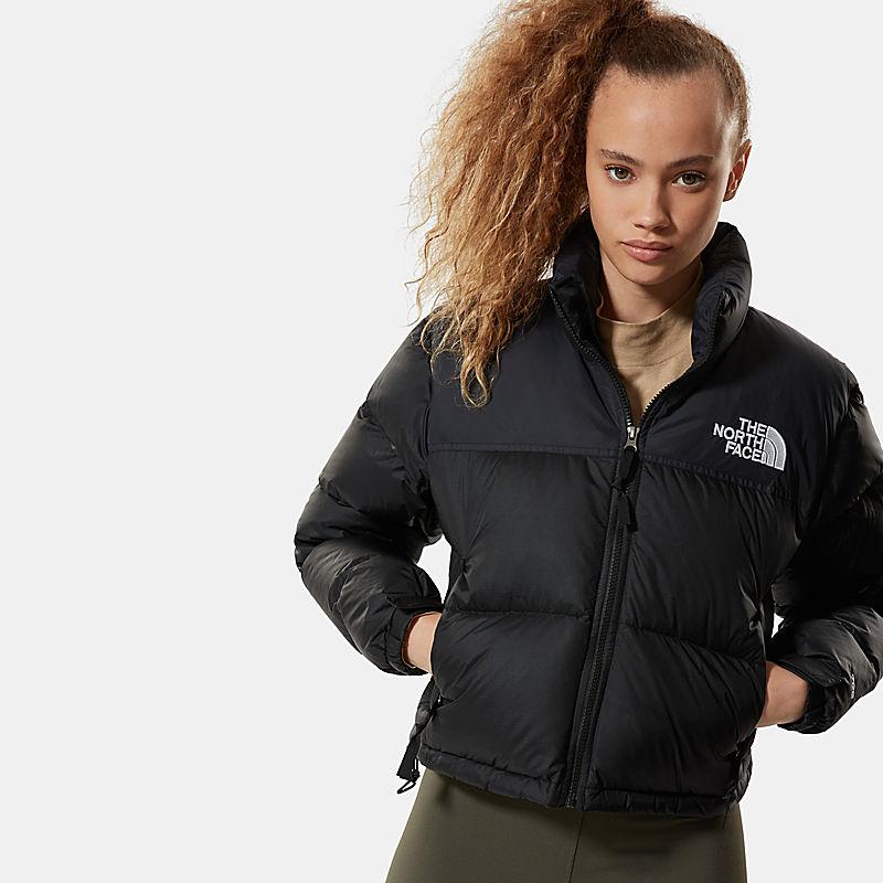 Women's Nuptse Cropped Down Jacket-