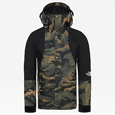 north face camouflage jacke