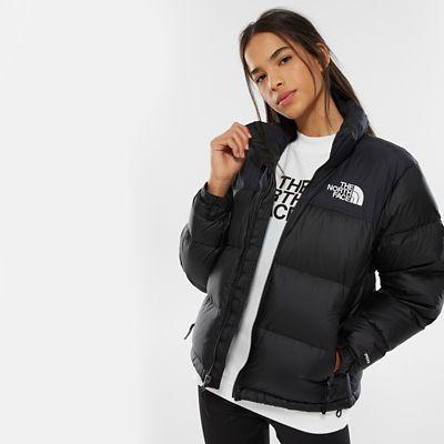 The North Face Womens 1996 Retro Nuptse Jacket Tnf Black Siz