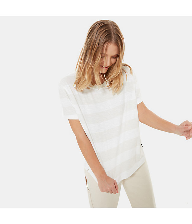 Women's Stripe Knit Short-Sleeve T-Shirt | The North Face