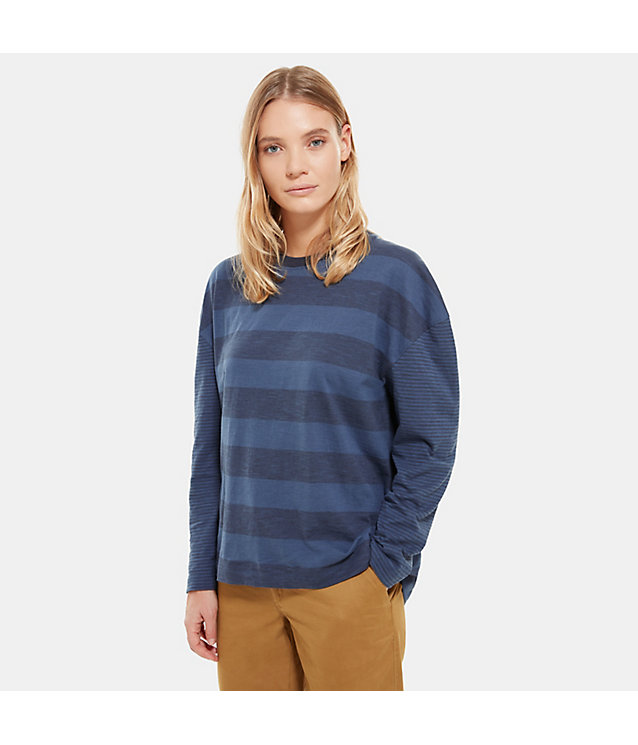 T-Shirt A Maniche Lunghe Donna Stripe Knit | The North Face
