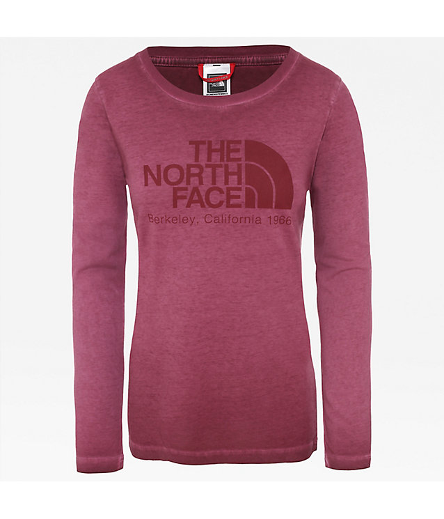 Women's Long-Sleeve Washed Berkeley T-Shirt | The North Face