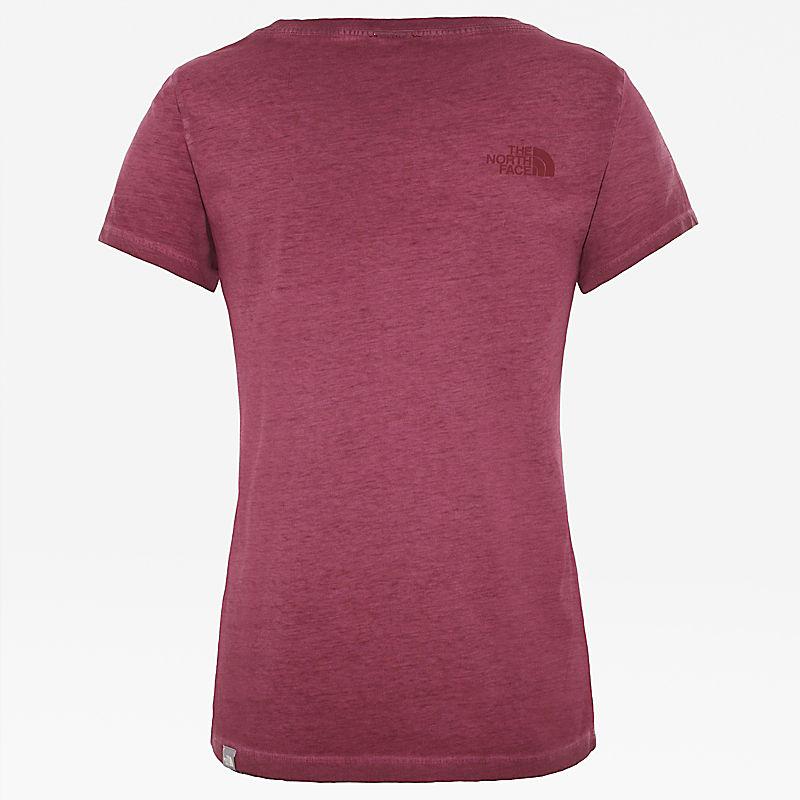 Damen Washed Berkeley T-Shirt-